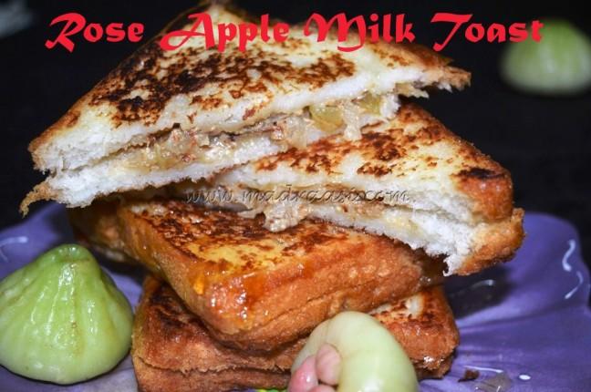 Rose Apple Milk Toast