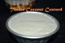 Tender Coconut / Yelaneer Custard