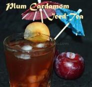 Plum Cardamom Iced Tea