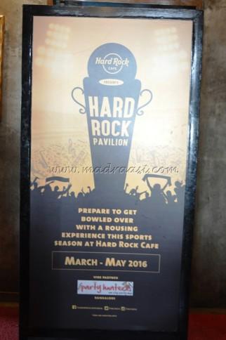 Hard Rock Café - Taste of Mexico - St. Marks Road