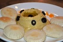 Pitt Bread with Hummus