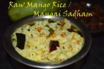 Raw Mango Rice / Manggai Sadham