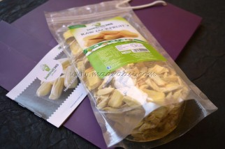 Jack fruit Chunks with the recipe box