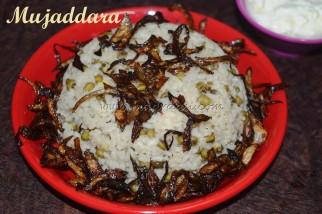 Mujaddara - Arabian Cuisine
