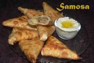 Minced Meat Samosa