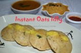 Instant Oats Idly