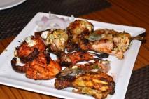 Non-veg starter - Fish, chicken, quail