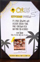 Kitchen Tours with California Pizza Kitchen