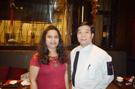 With chef Tong