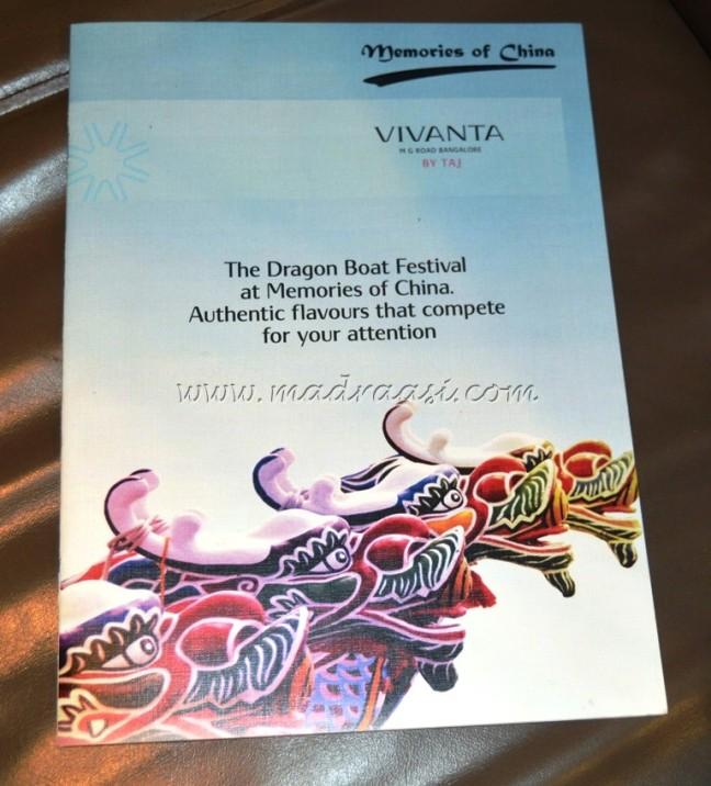 Dragon Boat Festival at Taj Vivanta, M.G. Road, Bangalore