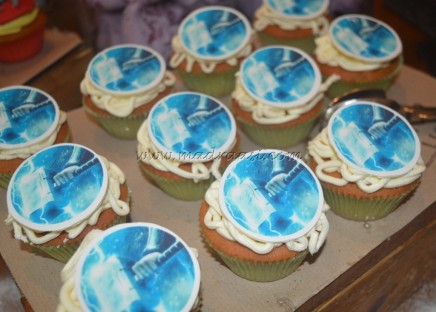 Thor cup cake