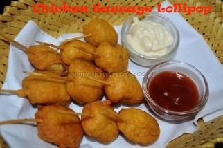 Chicken Sausage Lollipop