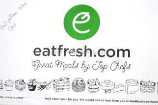 Food Review - Eatfresh, Online food delivery, Bangalore