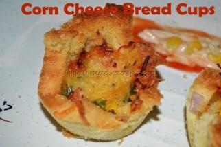 Corn Cheese Bread Cups
