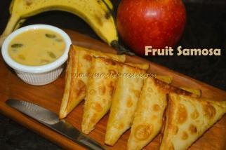 Fruit Samosa