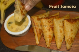 Fruit Samosa