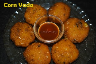 Corn Vada / Sweet corn vadai recipe / Navratri recipe