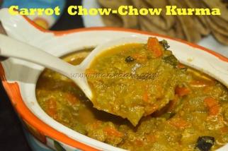 Carrot Chow-Chow Kurma