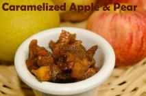 Caramalized Apple and Pear