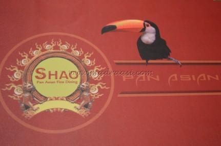 Food Review - SHAO Pan Asian Cuisine