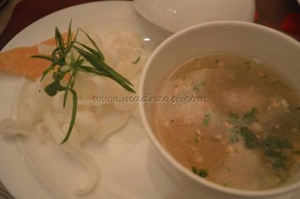 Chicken Dumpling Glass Noodles