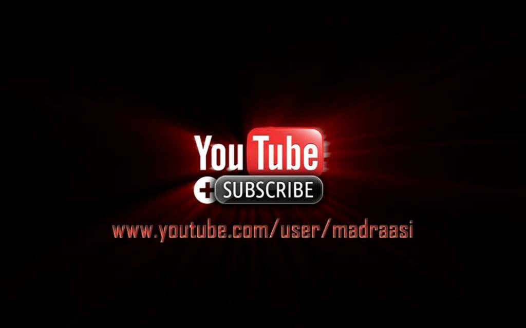 Subscribe with us on Youtube