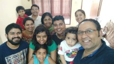 With few of my fellow bloggers at my home