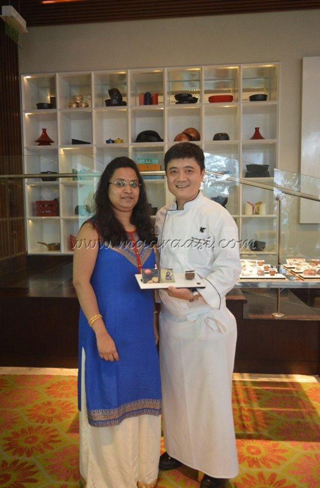 With Executive Chef Anthony En Yuan Huan of JW Marriott, Bangalore