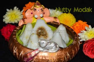 Nutty Modak / Nutty Modagam