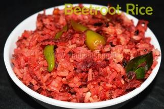 Beetroot Rice