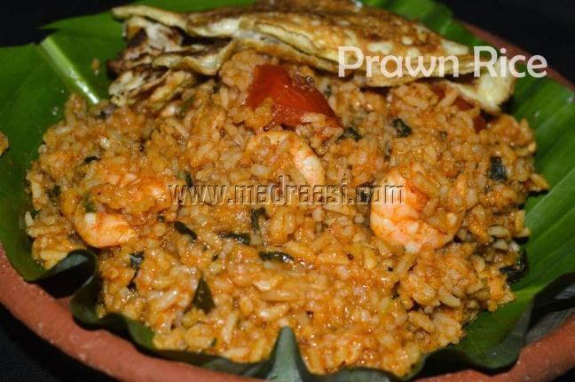 Prawn Rice / Yera Sadham