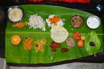 Complete Vegetarian platter