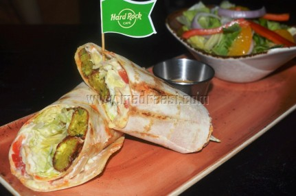Lebanese Shawarma roll