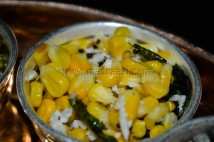 Sweet corn / Cholam Sundal
