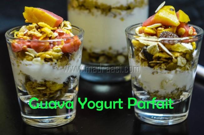 Guava Yogurt Parfait