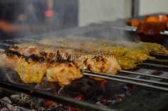 Kebab getting ready
