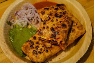 Chicken Baidu Roti