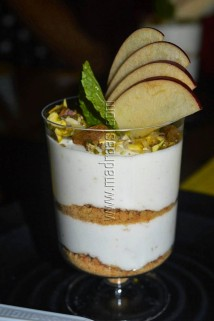 No Bake Muesli Cheesecake with NutriChoice Essentials Oats Cookies at SMALLY'S restaurant