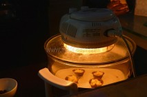 Getting baked in Halogen Oven