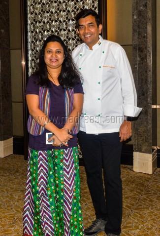 Me with Chef.Sanjeev Kapoor