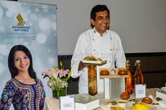 Chef Sanjeev Kapoor with Ruchi Thali
