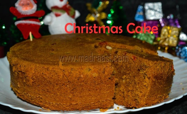 Christmas Cake, Non-Alcoholic Chrsitmas Cake, Christmas cake recipe, non alcoholic christmas cake recipe, christmas cake recipe easy and simple christmas cake, christmas cake images, christmas cake pictures, tamil christmas cake, tamil christmas cake recipe, tamil non alcoholic christmas cake recipe, Indian non-alcoholic christmas cake recipe, christmas cake with video, easy and simple christmas cake with video, christmas cake with video, christmas cake video recipe, christmas recipe, christmas food, tamil christmas recipe, tamil christmas food, tamil christmas celebration, madraasi christmas cake, madraasi christmas celebrations