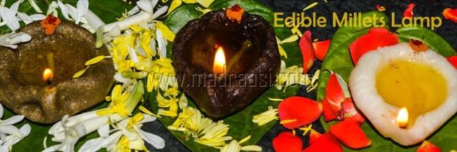Edible lamps, millet, millet recipes, tamil millet recipe, traditional millet recipe, authentic millet recipe, traditional tamil recipe, authentic tamil recipe, karthigai deepam special karthigai deepam kozhukattai, karthigai deepam kozhukattai vilakku, edible lamp, edible lamp recipe, vilakku, edible vilakku recipe