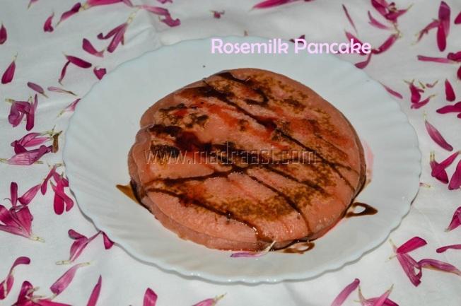 Rose Milk Pancake, rosemilk pancake recipe, pancake, pancake recipe, pancake series, pancake collection, rosemilk, rosemilk pancake, rose pancake, valentines recipe, valentines day recipe, happy valentines day, lovers day, valentines day food, breakfast, pancake breakfast