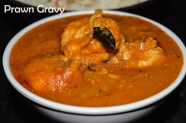 Prawn coconut milk curry, tamil recipe, tamil recipes, prawn coocnut milk curry, prawn recipe, prawn curry, raal kulambu, raal kulambu recipe, prawan coconut milk recipe, tamil prawn curry, tamil seafood recipe, images of tamil prawn curry, easy and simple prawn curry,
