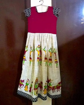 Frock done by Madraasi