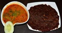 Natti Chicken curry withRagi roti