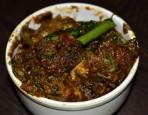 Thalae mamisa (lamb head fry)