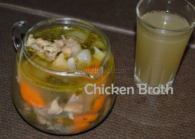 Chicken Broth, images of chicken broth, chicken broth picture, chicken broth image, chicken broth recipe, making of chicken broth, difference between chicken broth and stock, chicken recipe, chicken, soup, soup recipes