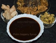 Palm Jaggery Syrup, Karuppatti Paagu, Karupati paagu, how to prepare palm jaggery syrup at home, how to make karuppati paagu, karupattai recipe, karupattai recipes, substitute for sugar, substitute for molasses, Indian molasses